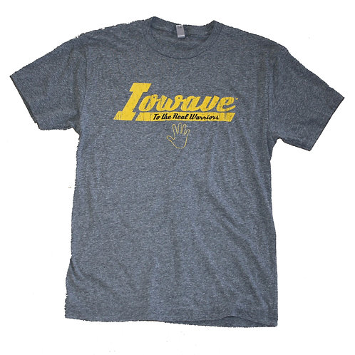 Iowave™'To The Real Warriors' T-Shirt - Grey