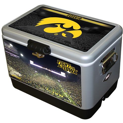 STEEL BELTED - Iowa Hawkeye Swarm Kinnick Cooler