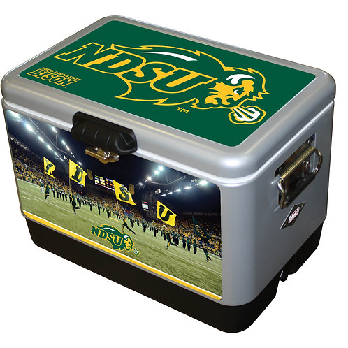 STEEL BELTED - North Dakota State Bison Cooler