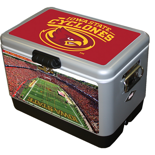 STEEL BELTED - Iowa State Cyclone Field Cooler