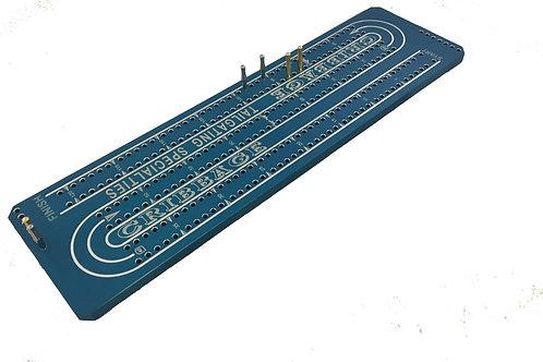 Cribbage Board - XL - Anodized Aluminum - Custom