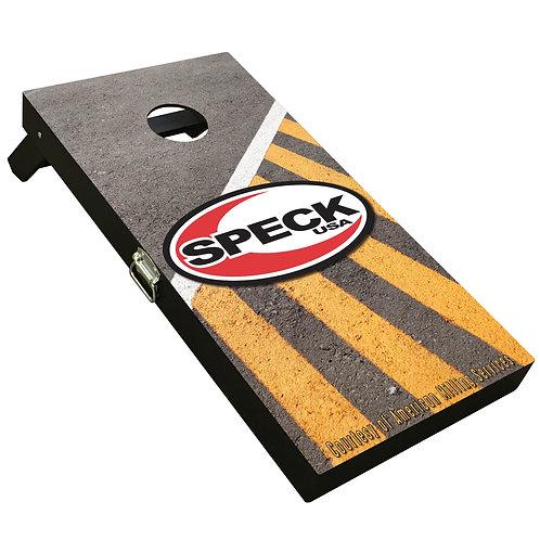 Custom Cornhole Boards - Speck Concrete