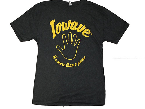 Iowave™ 'It's More Than a Game' T-Shirt - Black
