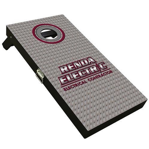 Custom Cornhole Boards -Renda Electric