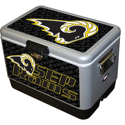 STEEL BELTED - Southeast Polk Rams Cooler