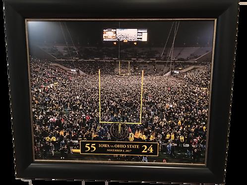Iowa vs Ohio State - Framed Wall Art