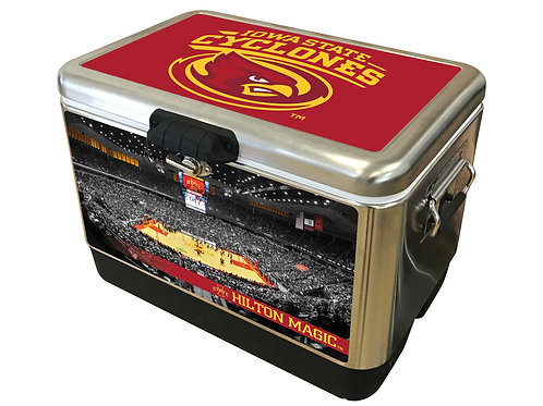 STAINLESS STEEL - Iowa State Cyclones Court Cooler