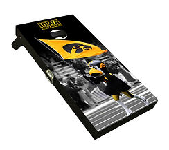 iowa hawkeyes cornhole boards