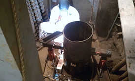 Stache Drilling, Drilling, Elevator, Jack Hole, Jack, Hole, hole drilling, midwest, contractors