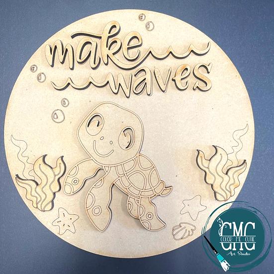 Make Waves Turtle Round Kids Kit