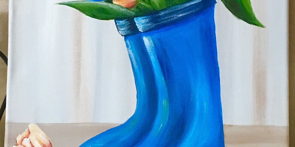 First Lutheran Church, Yuba City, Tulips In Blue Boots $45