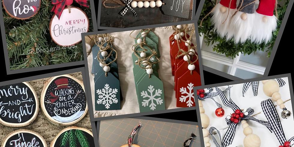 Holiday Handmade Ornament Class #2