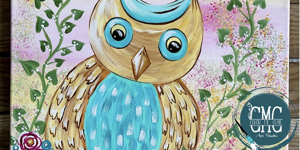 4/14/21 @6pm ITS A HOOT PAINT PARTY