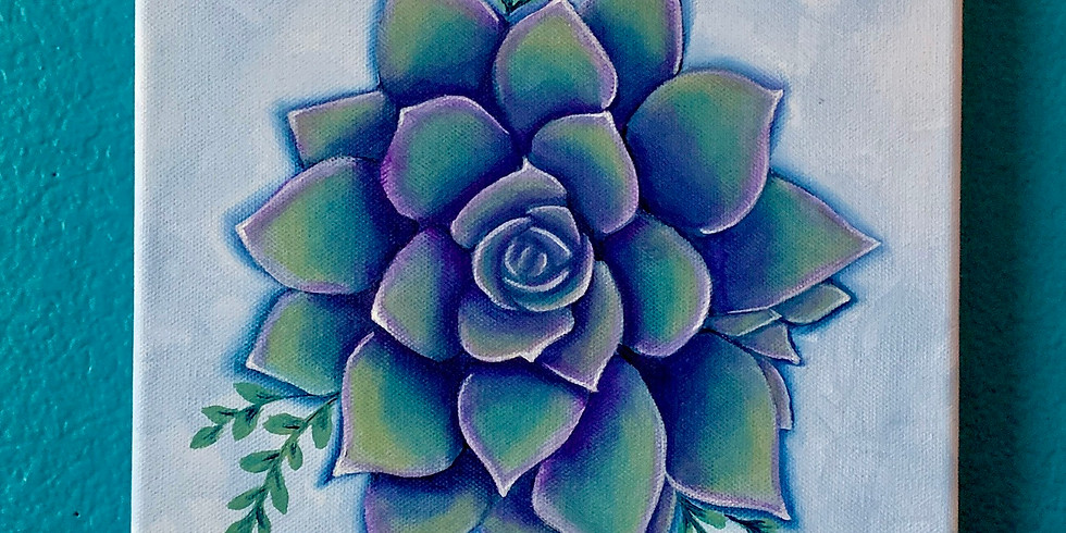 Succulent Paint Party (ONLINE ANY TIME)