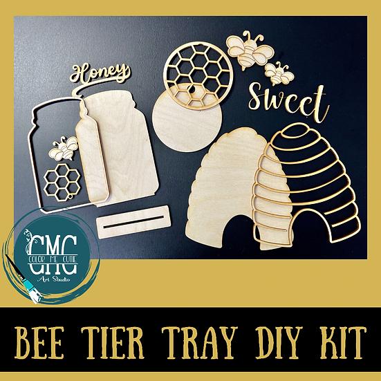 Bee Tier Tray Set DIY Kit