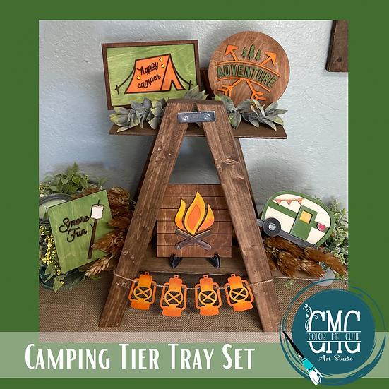 Camping/RV Tier Tray Set