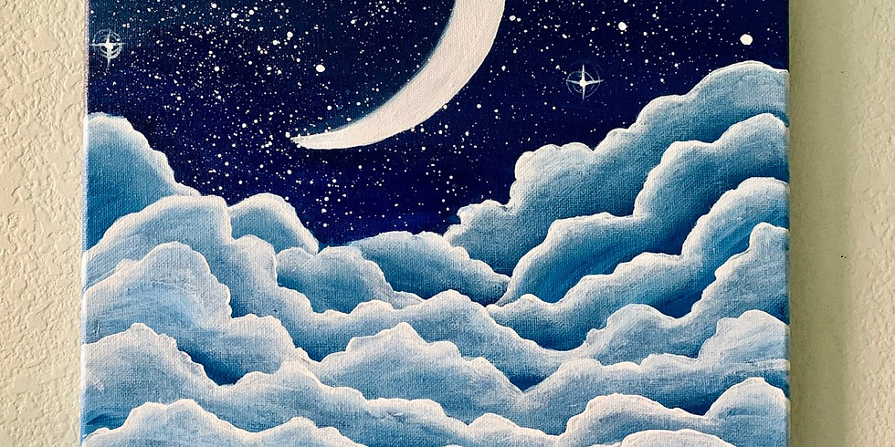 Meteor Moon Paint Party (ONLINE ANYTIME)