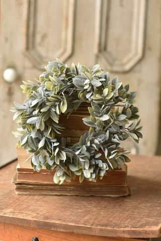 Cape Bay Candle Ring Wreath