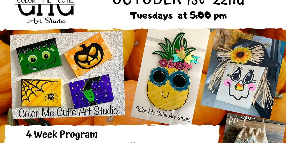 Kids Art and Crafts - 4 week program-Tuesdays- $85