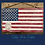 Thumbnail: Rustic US Flag Sign/Dimentional Eagle with The Pledge of Allegiance/ laser cut