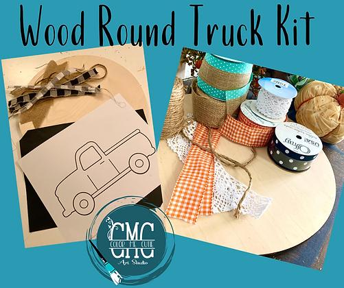 Wood Round Truck Kit