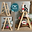 Thumbnail: Collapsible Ladder Style - 3 Tier Tray