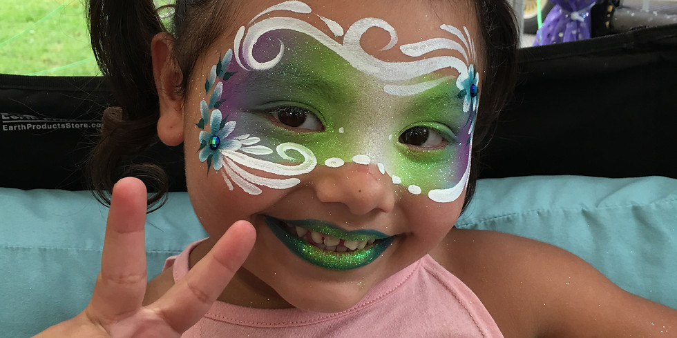 FACE PAINTING AT PEACH FEST!!!!