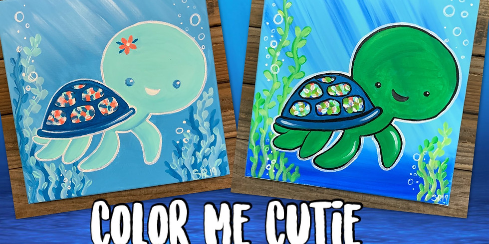 Kids (Ages 5 and up) Turtles Painting Class at Beale AFB (1)