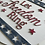 """Thumbnail: Patriotic 18"""" Wood Round Doorhanger/Let Freedom Ring sign"""