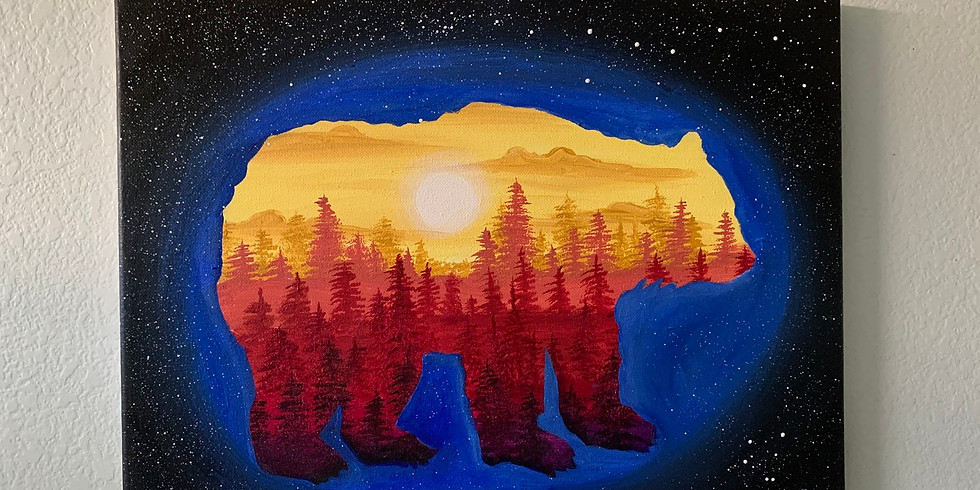 The Bear Paint Party (ONLINE ANY TIME)