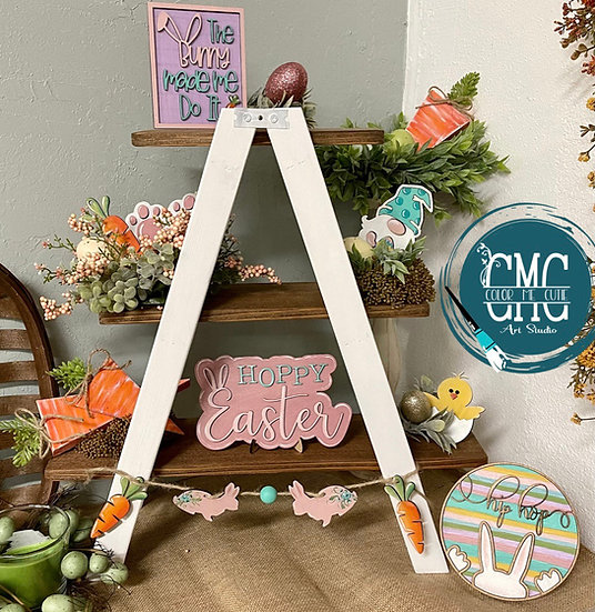 Easter Tier Tray Set / Mini sign kit