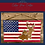 Thumbnail: Rustic US Flag Sign/Dimentional Deer Fish Trees Wood sign/Laser Cut Sign