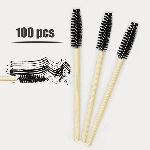 Bamboo Eyelash Extension Brushes