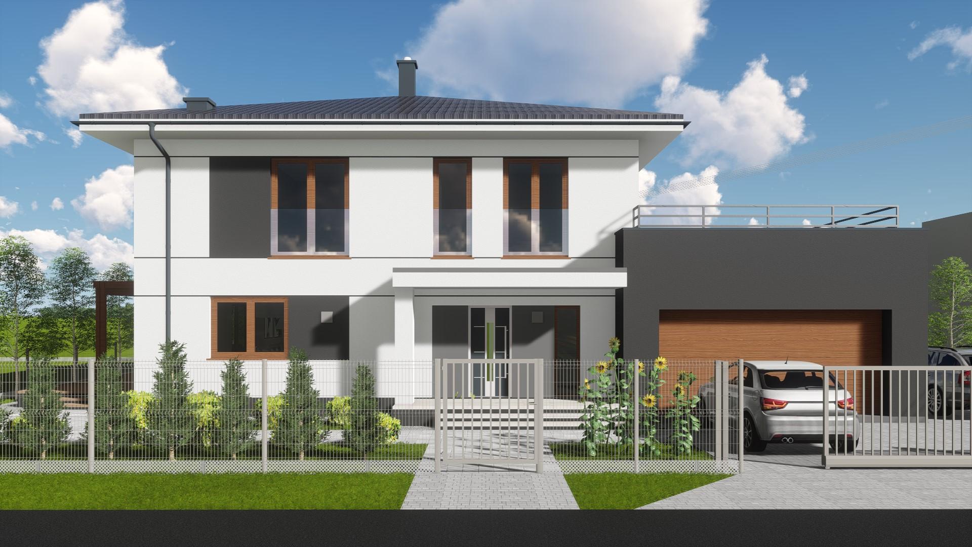 Parter + Piętro + Garaż - Bielowice