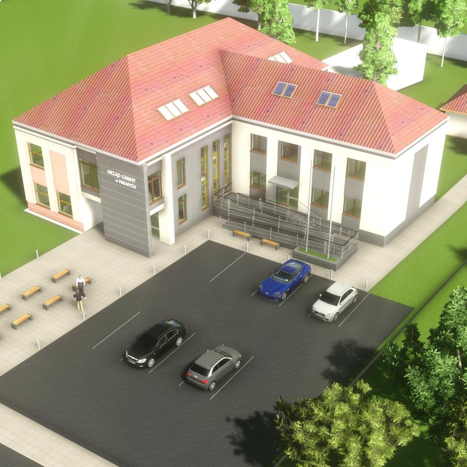 Budynek Gmina Paradyż
