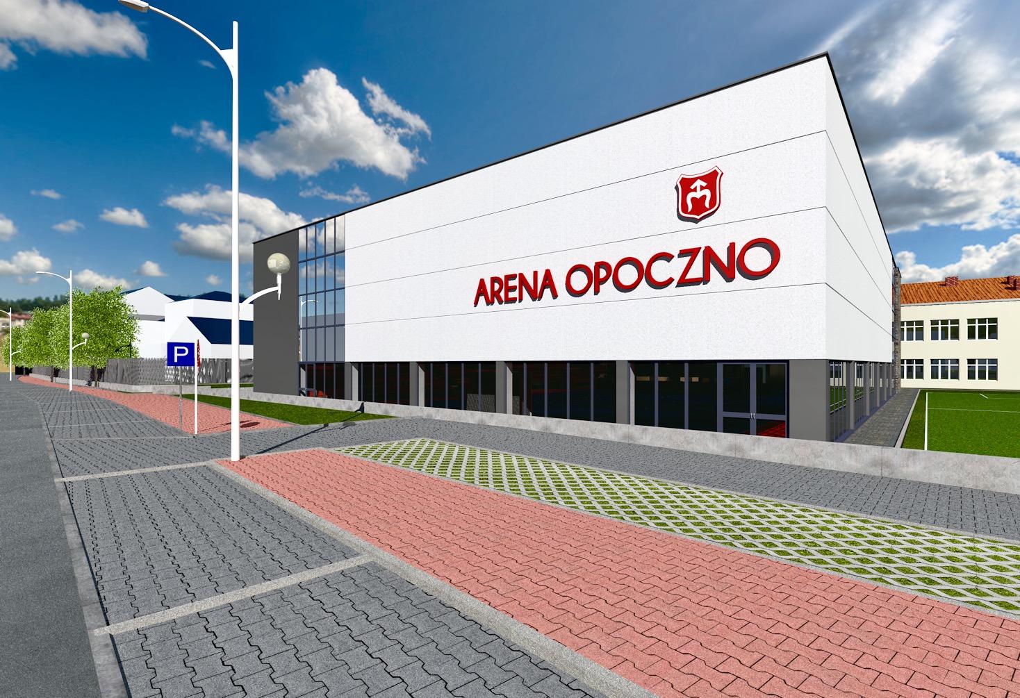 Alena Opoczno - Hala sportowa