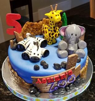 Zoo Theme Birthday