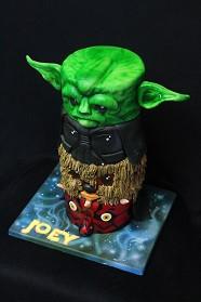 Star Wars totem cakes