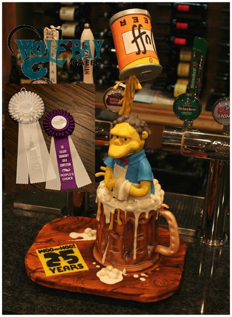 Sculpted Simpson Tribute