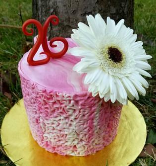 Double barrel Cake