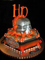 Harley Davidson design cake