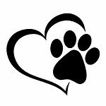 14-1-12-4CM-Love-The-Dog-Paw-Print-Windo
