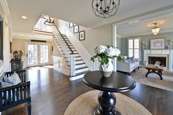 welcoming foyer design