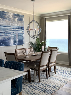 beach front dining room