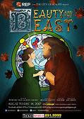 Poster Repertory Philippines Beauty and the Beast