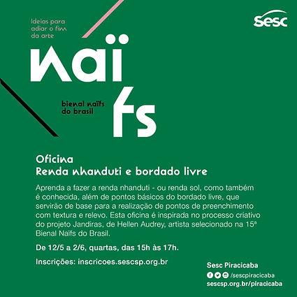 Curso para Bienal Naifs do Brasil Sesc P