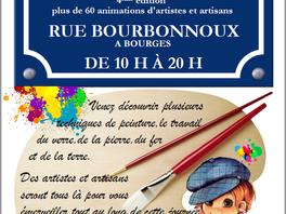 Exposition Le P'tit Montmartre à Bourges le 17/06/2017