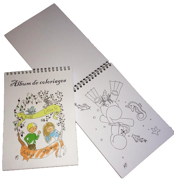 Carnet de coloriages