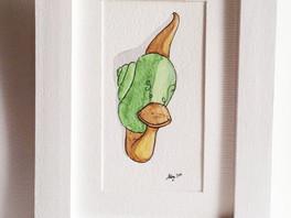 Plukaposer série escargot