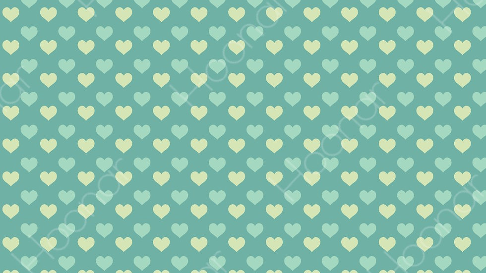Printable Hearts Wrapping Paper Design